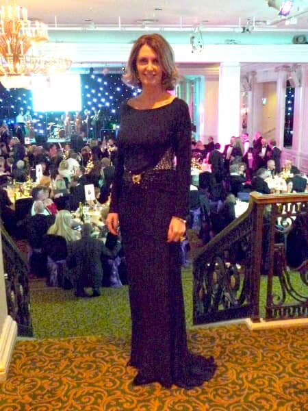 Maria at The Children's Trust 30th Anniversary Ball