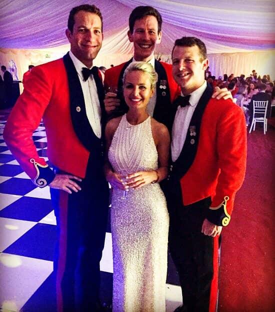 Dusky-Pink, Allover Sequin, Halterneck Gown